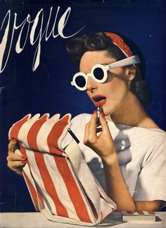 Vogue 1939 Beach House Bag