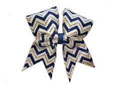 039d22e674b0 Chevron Shine Bow Cheer Bows, Cheerleading Bows, Bows For Sale, Rhinestone  Bow,
