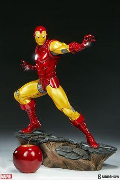 BLOG DOS BRINQUEDOS: Iron Man Marvel Statue