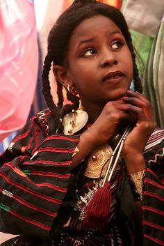 Africa |  People.  Libyan girl.  Image credit ~ Mansour Ali