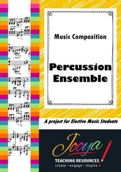 MUSIC - Elective Music Percussion Ensemble CompositionThis is a tried and true resource that I have used for many years, and you will too!This is a Composition Task that I have used with Year 10 and 11 students. The task requires students to create and work together to compose and notate a piece of music for a percussion ensembles of their choosing.