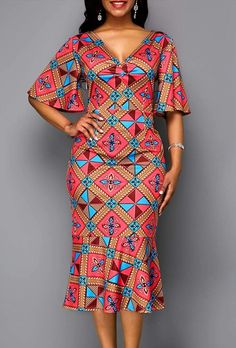 Beautiful Ankara Gown Styles for Ladies 2019 Ankara Dress Styles, African Fashion Ankara, Latest African Fashion Dresses, African Dresses For Women, African Print Fashion, African Attire, Ankara Skirt, African Men, Ankara Blouse