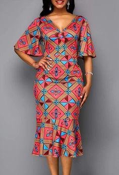 Beautiful Ankara Gown Styles for Ladies 2019 Ankara Dress Styles, African Fashion Ankara, Latest African Fashion Dresses, African Dresses For Women, African Print Fashion, African Attire, Ankara Skirt, African Men, Ankara Tops