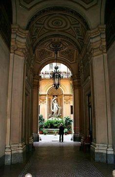 Imágenes sin catalogar de Roma Italia.  Museo??