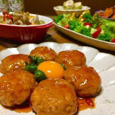 時短簡単!材料2つだけで作るふわふわのつくねのご紹介です。|LIMIA (リミア) Cook Pad, Mince Meat, Pretzel Bites, Japanese Food, Bento, Main Dishes, Food Porn, Food And Drink, Cooking Recipes