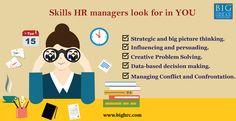 HR managers look for candidates who have extraordinary skills.  #hiring #humanresourcemanagement #candidate #skills #bigideashr