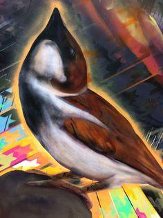 superspyug at Stirling Old Town Jail. part of the Freedom Versions v1 mural