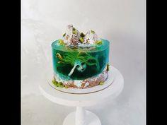 Cake Cookies, Cupcake Cakes, Island Cake, Beach Themed Cakes, Ocean Cakes, Jello Cake, Fantasy Cake, Cakes For Women, Cake Flavors