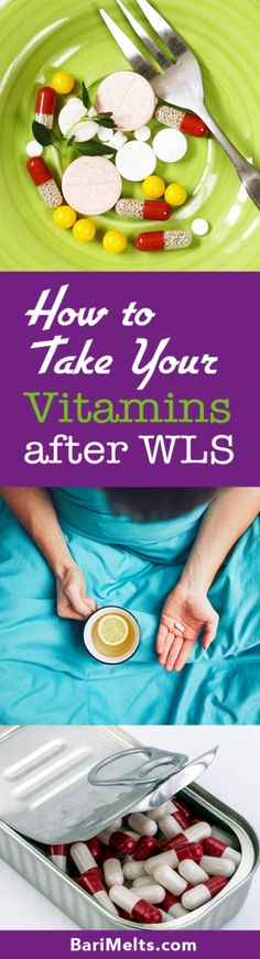 Vitamins after WLS |