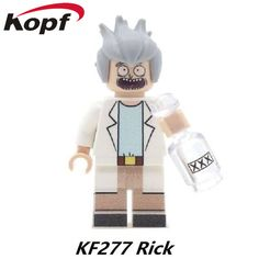 $2.37 - Awesome Single Sale Super Heroes Star Wars Rick Morty Magic Teacher Terminator Bride Aurra Sing Building Blocks Children Gift Toys KF277 - Buy it Now!