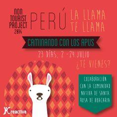 Programa de viaje a Perú 2014 http://agrotravelturismoresponsable.wordpress.com/2014/05/12/un-verano-diferente-y-responsable/