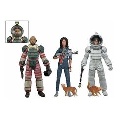 Humorous Scalers Wave 5 Neca Factories And Mines Complete Set Collectible Mini Characters