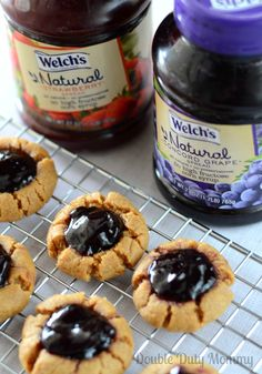 Peanut Butter and Jelly Cookies #PBJyourway