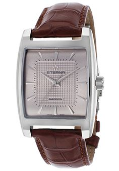 Cool Watches, Watches For Men, Square Watch, Watch Sale, Luxury Watches, Cool Things To Buy, Brown, Silver, Accessories