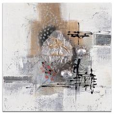 28013b927703c ABSTRAIT Peinture Argenté doré métal Acrylique 40x40 Peinture Argentée,  Peinture Metal, Peinture Abstraite,