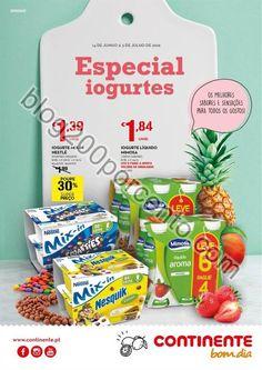 Novo Folheto CONTINENTE Especial Iogurtes de 14 junho a 3 julho - http://parapoupar.com/novo-folheto-continente-especial-iogurtes-de-14-junho-a-3-julho/