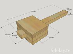 Легкий деревянный молоток - колотушка или попросту киянка своим ...