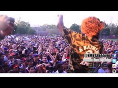 Flatbush Zombies and The Underacievers Summerstage Performance [EME]