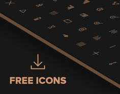 Free 80 Crispy Icons in PSD, AI, SVG & Webfont