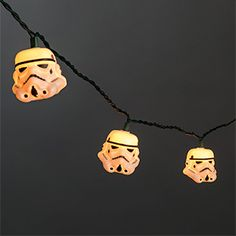 These Stormtrooper String Lights are intended for the holiday and you can string them end-to-end to make them cover even the largest tree, but they're also great to pull out for celebrations like, say, movie viewing parties.