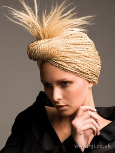 Photo of 2008 updo rope hairstyle