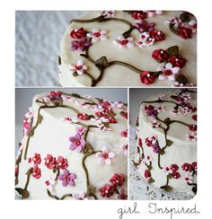 The Secret Garden Cake - cake decorating tutorial