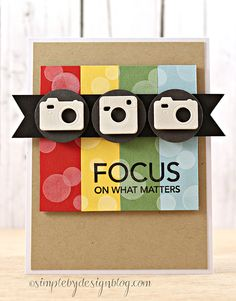 Bokeh Builder, Cute Cameras Die-namics - Joy Taylor #mftstamps