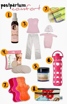 Postpartum comfort: All the essentials to feel human again after having a baby!