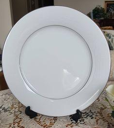 Excited to share the latest addition to my #etsy shop: Noritake Whitehall Dinner Plates, White Flowers, Platinum Trim, Scrolls, Vintage Tea Set, Formal Dinner Plates, Bone China, 1960s http://etsy.me/2CVMyoZ #housewares #white #wedding #mothersday #silver #platinumrim