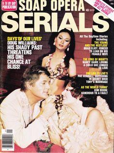 Bill Hayes (Doug Williams); Susan Seaforth Hayes (Julie Williams); Helen Funai (Kim Douglas).  Days of Our Lives, 1976.