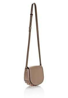 ALEXANDER WANG MINI LIA IN LATTE WITH ROSE GOLD  Shoulder bag Adult 12_n_a