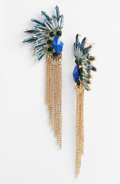 Something colorful, like these Robert Rose 'Fan - Glam' Earrings | Nordstrom