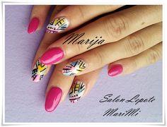 Nokti - Nails - Nail art Enamel, Nail Art, Nails, Beauty, Isomalt, Beleza, Polish, Ongles, Finger Nails
