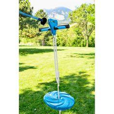 New Zipline Eagle Zipline by Slackers. Patio Garden Furniture from top store Zip Line Backyard, Backyard For Kids, Backyard Toys, Backyard Playground, Outdoor Games, Outdoor Play, Outdoor Living, Kids Zipline, Backyard Zipline