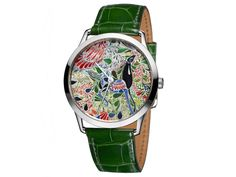 Hermès presenta un reloj con motivos mexicanos en Baselworld