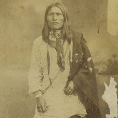 Antique CDV Photo Cheyenne Scout ID'D Little Bear's Son Fort Reno OK Indian Wars | eBay