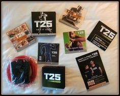 Shaun T's Focus T25 will be released tomorrow! 25 minute workouts, that's it, 25 minutes! Click for the details. ;)
