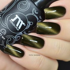 Magnetic gel-polish