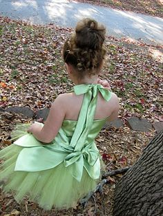Tinkerbell costume tutorial
