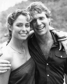 Farrah Fawcett and Ryan O'Neal