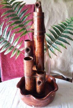 fonte de água ornamental bambu