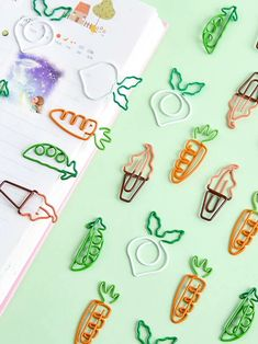 Composition: Metal Type: Paper Clips cm Inch Size one-size Length 3 Width 2 Size one-size Length Width Stationary Supplies, Stationary School, Cute Stationary, Cool School Supplies, School Suplies, Kawaii Stationery, Korean Stationery, Cute Little Things, Too Cool For School