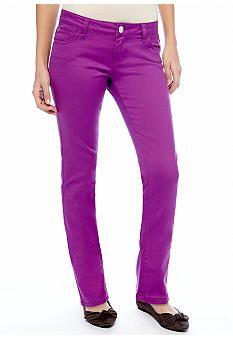 Celebrity Pink Colored Skinny Jean #belk #color #juniors