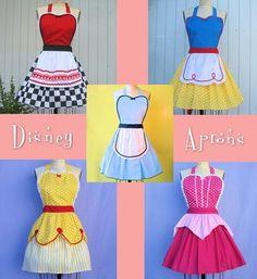 DISNEY APRONS!!!!!!