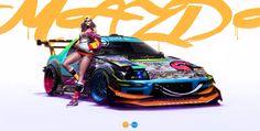 Beauty & The Beast, Khyzyl Saleem on ArtStation at https://www.artstation.com/artwork/beauty-the-beast-060e6e45-daba-4088-983b-bc1d7b0b6d47