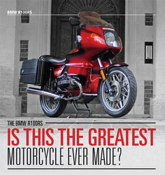 bmw r100rs (almost!) This was my dream machine for many, many years. It is still in my top 3 bikes to own.