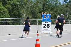 THIS MILE MARKER!!! | The 37 Happiest Things You See While Running A Marathon