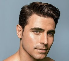 Thick Part Hairstyle for Men
