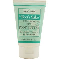 Intense repair spa foot butter 4 oz blend of tea tree and mint