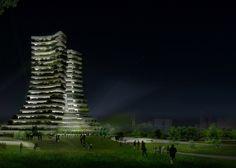 La ciudad de Bac Ninh, en Vietnam, quiere construir el Green City Hall, un edificio con dos torres inclinadas repleto de vegetación que servirá como el nuevo ayuntamiento de la ciudad.